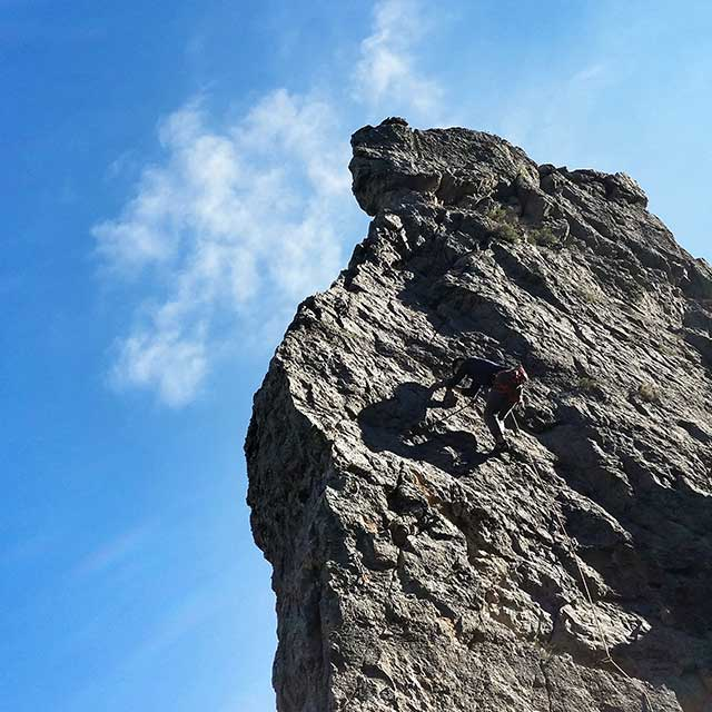 Climbing Sardegna